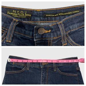 NYDJ Jeans - NYDJ Tummy Tuck Straight Leg Blue Jeans sz 8